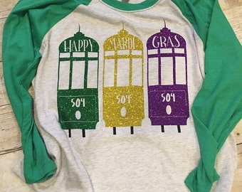 Kids street car raglan