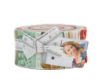 """Meraki - BasicGrey - Moda - 40 Pieces - 2.5"""" Strips - Jelly Roll - 30490JR"""