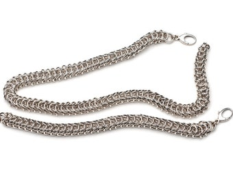 Sterling Silver, Queen's Chain Necklace, Queen's Chain Bracelet,  Chain Link Necklace, Chain Link Bracelet, Chunky Chain
