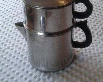 Stovetop coffee maker, 4 piece. Camp coffee maker