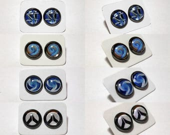Blizzard Overwatch Starcraft Hearthstone Heroes of the Storm Stud Earrings