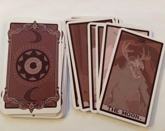 Cryptid Tarot Cards - Major Arcana