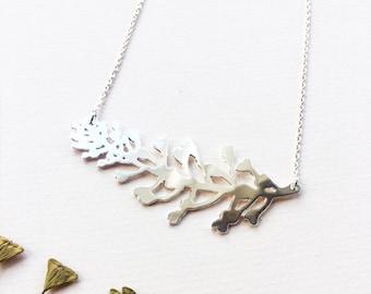 Shepherd's purse plant- Necklace