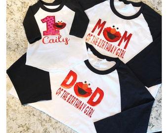 Elmo Birthday Family Shirts !