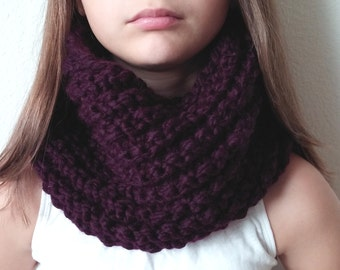 THE BRIDGEPORT - Knit Chunky Cowl - Snood - (more colors available)