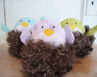 PDF SEWING PATTERN - Nesting Chicks