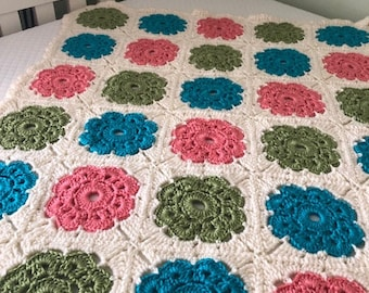 May Flowers Baby Blanket
