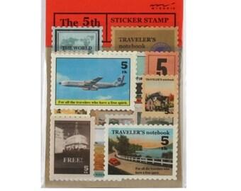 Travel Stamp Stickers Planner Stickers Scrapbooking Stickers Funny Planner Stickers