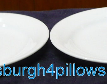 2 - Corelle - Winter Frost - 6 1/8 - Smaller Than Bread and Butter Plate - Read Below -  Price Is For All - Wear Underneath