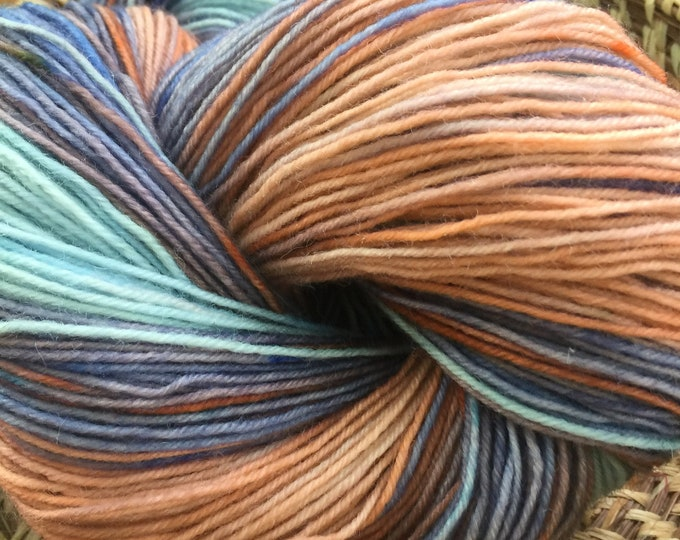 Insouciant Studios Hand Dyed Sock Yarn Conch