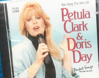Karaoke Songs, Petula Clark, Doris Day, Sing A Long, CDs, Background Tracks, Pocket Songs, Music, Popular Music, You Sing The Hits. Songs