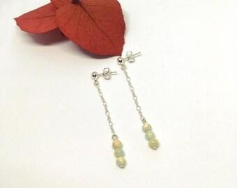 Jasper Silver 925 earrings