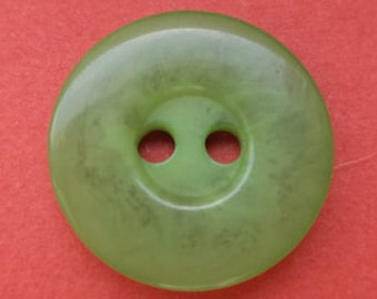 14 light green buttons 15mm (2072) button Green