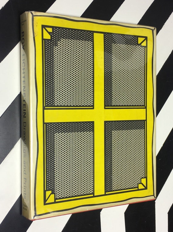 Roy Lichtenstein: Drawings and Prints; With an Introduction by Diane Waldman (1969) hardcover book