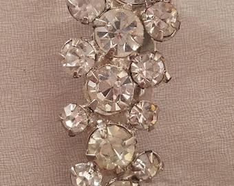 Jewelry - Hat Pin - Collar Pin - Scarf Pin - Rhinestone