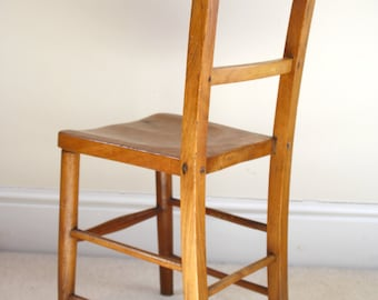 Early 20th Century Child's School Chair