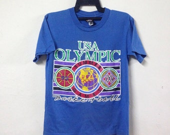 VINTAGE OLYMPIC 1992 by jc penny t shirt size S
