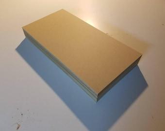 """1/8"""" MDF 12x24 (24 Sheets) Medium Density Fiberboard"""