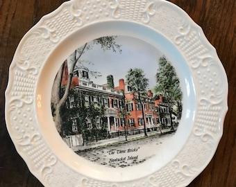Vintage Souvenir Nantucket Plate