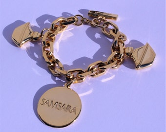 "Authentic bracelet Guerlain "" Samsara "" Vintage"