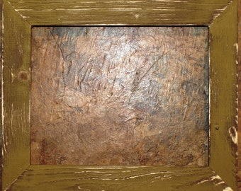 "1-1/2"" Gold Distressed Picture Frame"