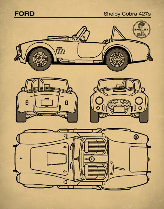 Patent print ford shelby cobra blueprint 427s shelby cobra patent print ford shelby cobra blueprint 427s shelby cobra poster auto art sports car decor p370 malvernweather Image collections