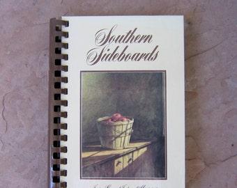 Southern Sideboards Cookbook Junior League of Jackson Mississippi, Junior League Cookbook, Vintage Cookbook