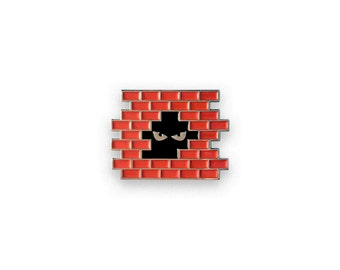Urban Creeper Enamel Pin