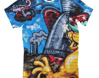 Graffiti Art T-Shirt All sizes