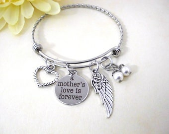 Mom Memorial, Mom Loss, Loss of Mom, Mom Sympathy, Loss of Mother, A Mother's Love is Forever, Memorial Gift, Bereavement Gift