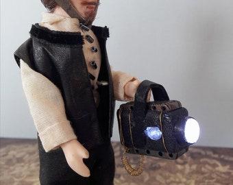 Steampunk Dollshouse Miniature Figure: Professor Digby Charlweston