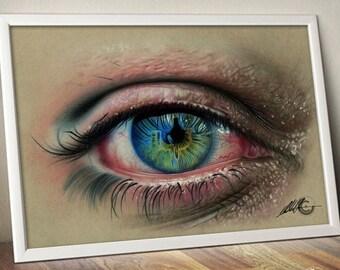 Blue Eye Limited Edition Print