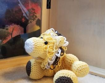 Lion Crochet Stuffed Animal