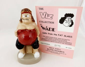 Wade Viz San The Fat Slag with Certificate 1998 (Perfect)