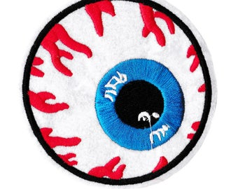 Cool & Different Bloodshot Eye Patch 9cm