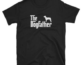 Staffordshire Bull Terrier Shirt Gift Dogfather Tee