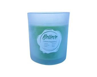 Believe - Sweet Lemongrass - Soy Candle