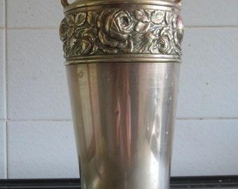Vintage Italian Brass Vase