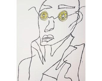 When Life hands you a Lemon - Original Artwork