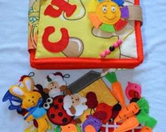 quiet book tactile quiet toy quiet ірукти beasts quiet baby gift baby quiet play calm book gift
