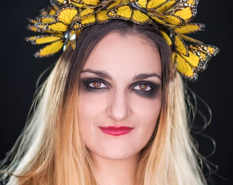 Butterfly crown - butterfly circlet - faery crown -