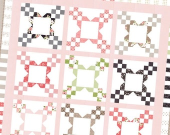 SALE - Bloominton quilt pattern from Lella Boutique - jelly roll friendly