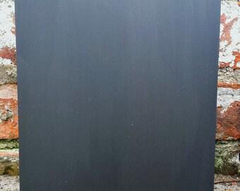 Large Chalkboard Blank 80cm x 45cm Shabby Chic Blank Large Blackboard