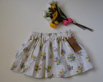 Gathered Skirt - Girl's Skirt - Skirt Size 2/3