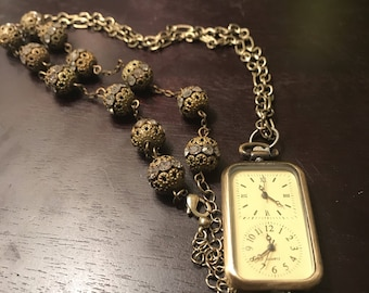 The Time Keeper Watch Necklace