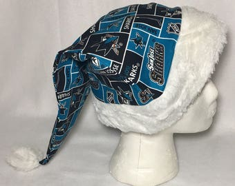 San Jose Sharks- Adult Santa Hat