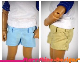 BJD YoSD 1/6 Doll clothing - Grey Shorts