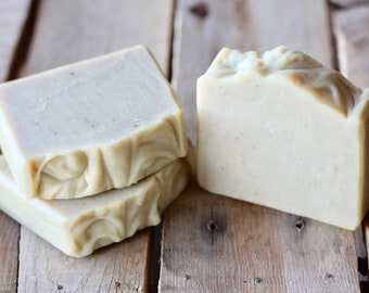Frankincense and Myrrh Handmade Bar Soap - Cold Process, All Natural, Moisturizing, Infused with Essential Oils, Soap