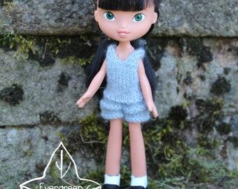 Repainted doll 125 by EvergreenDollsCo - OOAK made under rescued doll