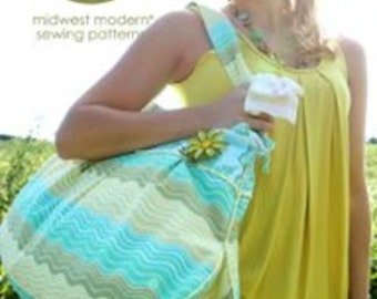 Amy Butler Midwest Modern Field bag & Tote Sewing Pattern